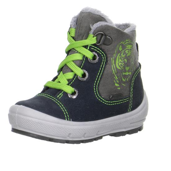 chlapecké zimní kožené boty Superfit s goretexem  612f19e46f