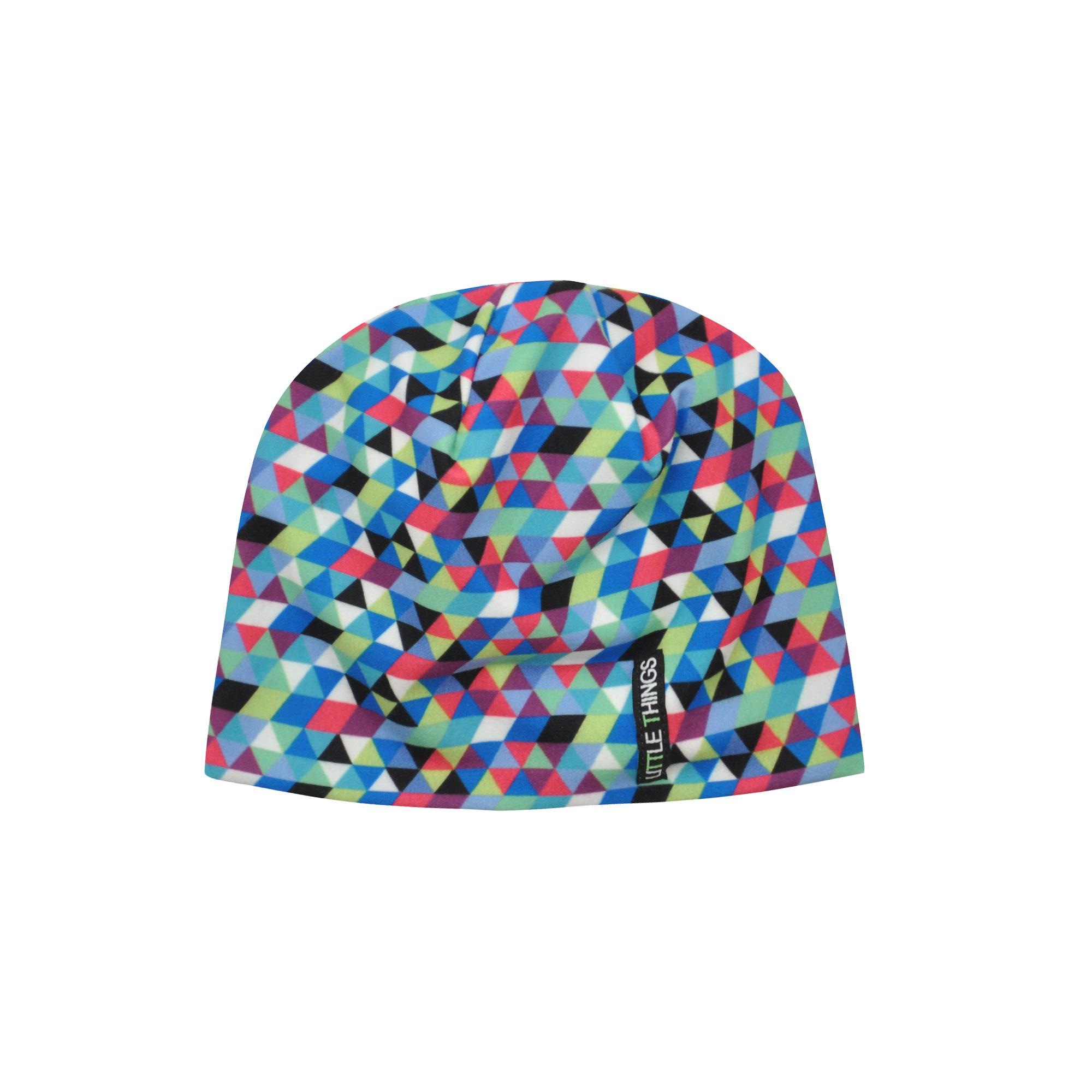 dětská vzorovaná čepice triangl  0bba03e1ba