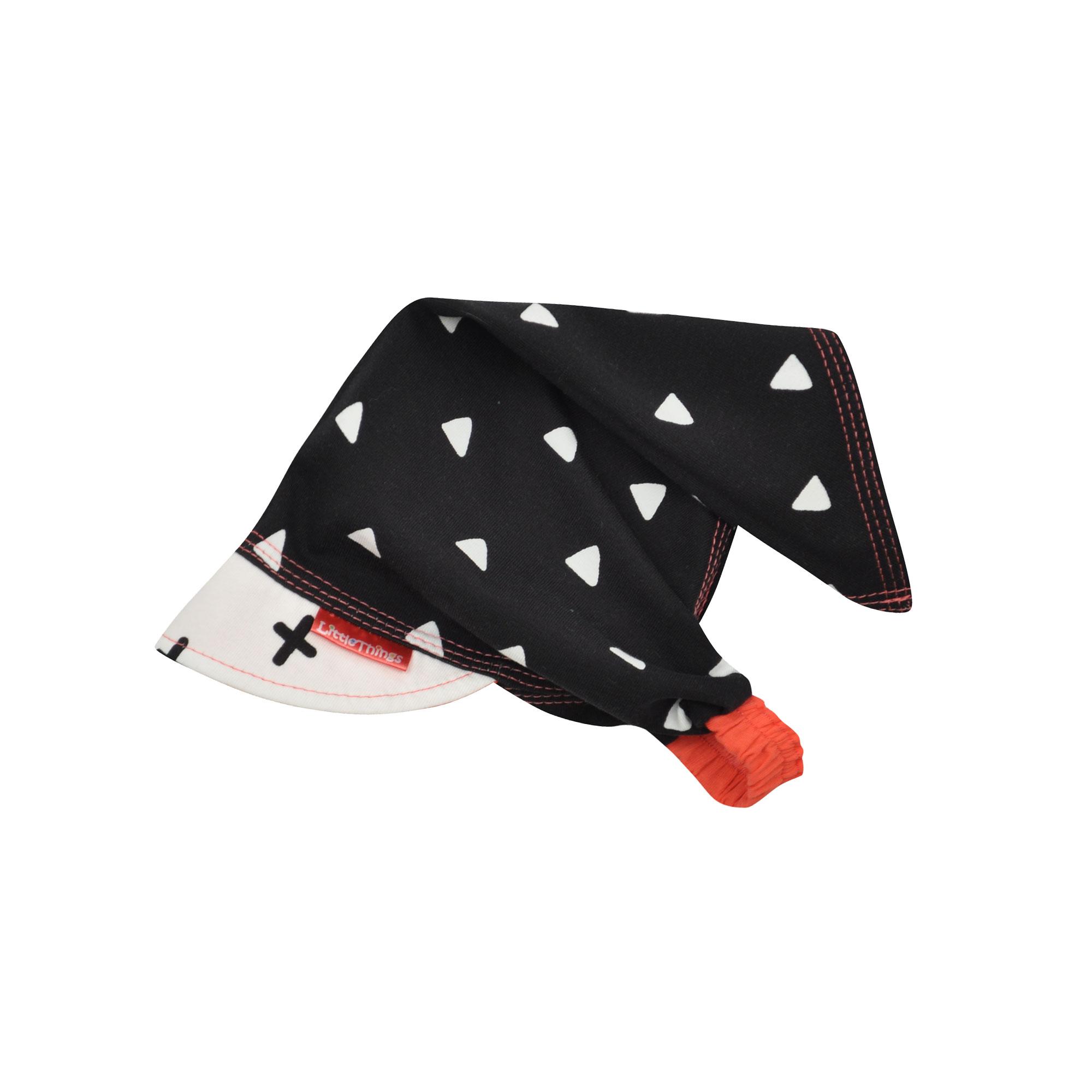 dívčí bavlněný šátek na hlavu s trojúhelníky  a48baa8b17