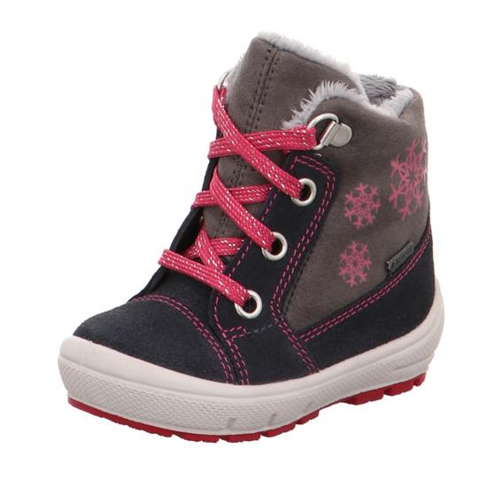 dívčí kotníčkové zimní boty Superfit s Gore-texem  95f1546fb1