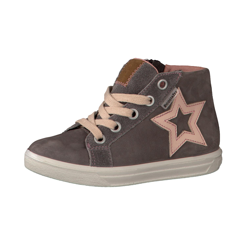 dívčí kožené celoroční boty Ricosta Sandra  30e77e4526