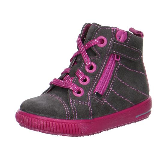 be6dddfe953 dívčí kožené celoroční boty Superfit