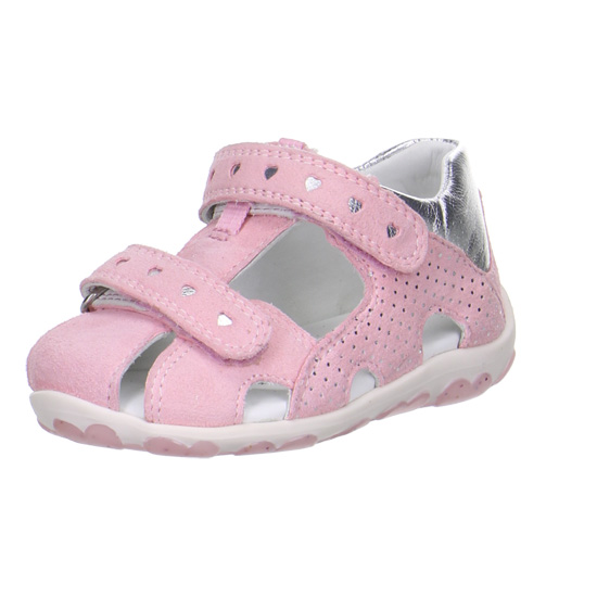 cd81eeec41d dívčí kožené sandálky Superfit