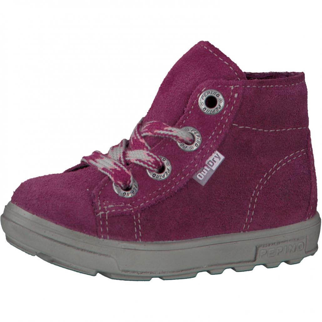 dívčí kožené zimní boty s membránou Out-dry Ricosta Zaini  ffe6171714