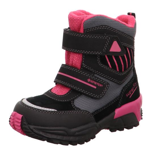 1442cc58cdc dívčí vyšší zimní boty Superfit s Gore-texem
