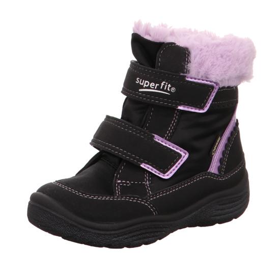 dívčí vyšší zimní boty Superfit s Gore-texem  3899e56776
