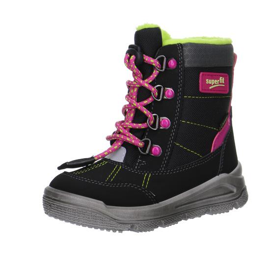 dívčí vyšší zimní boty Superfit s gore-texem  95e9e42de4