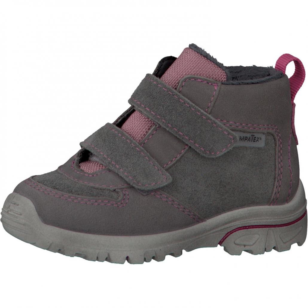 dívčí zimní kožené boty s membránou SympaTex Ricosta Lanz  24e87836d0