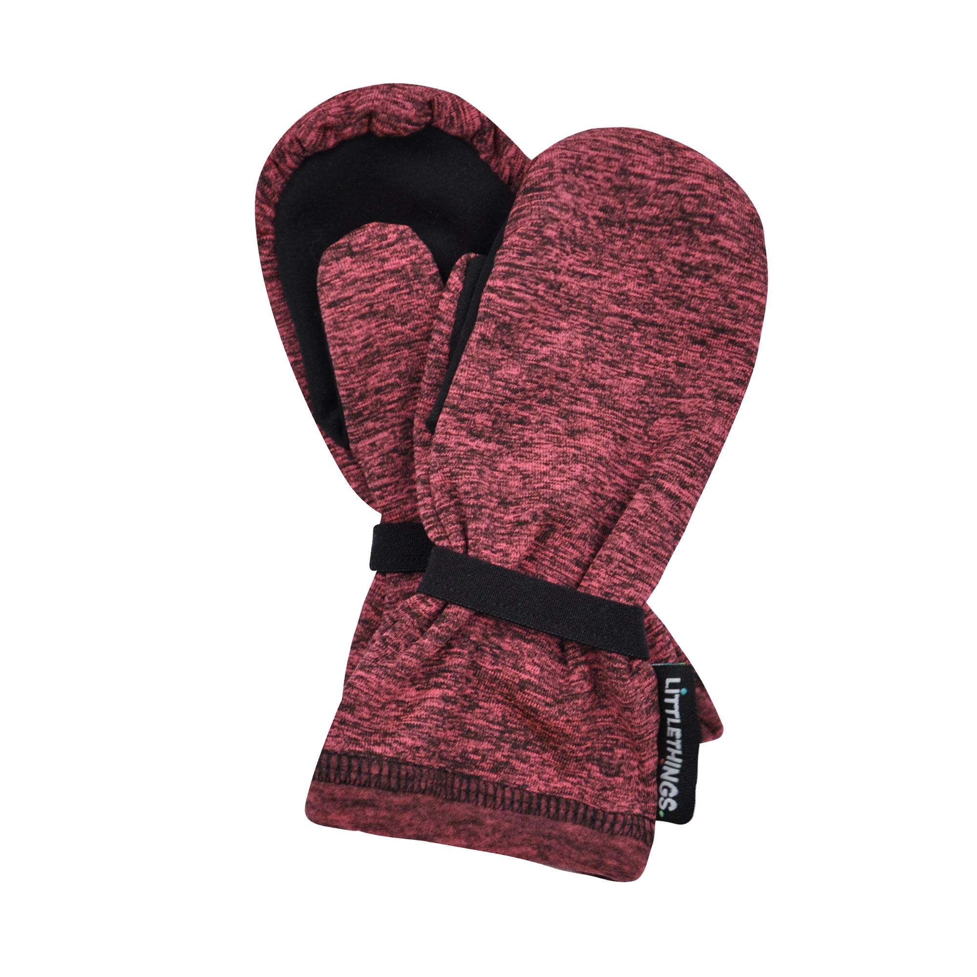 6586e962428 růžové melírované rukavice