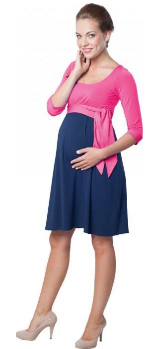576753c43fc6 těhotenské šaty Nataly true pink
