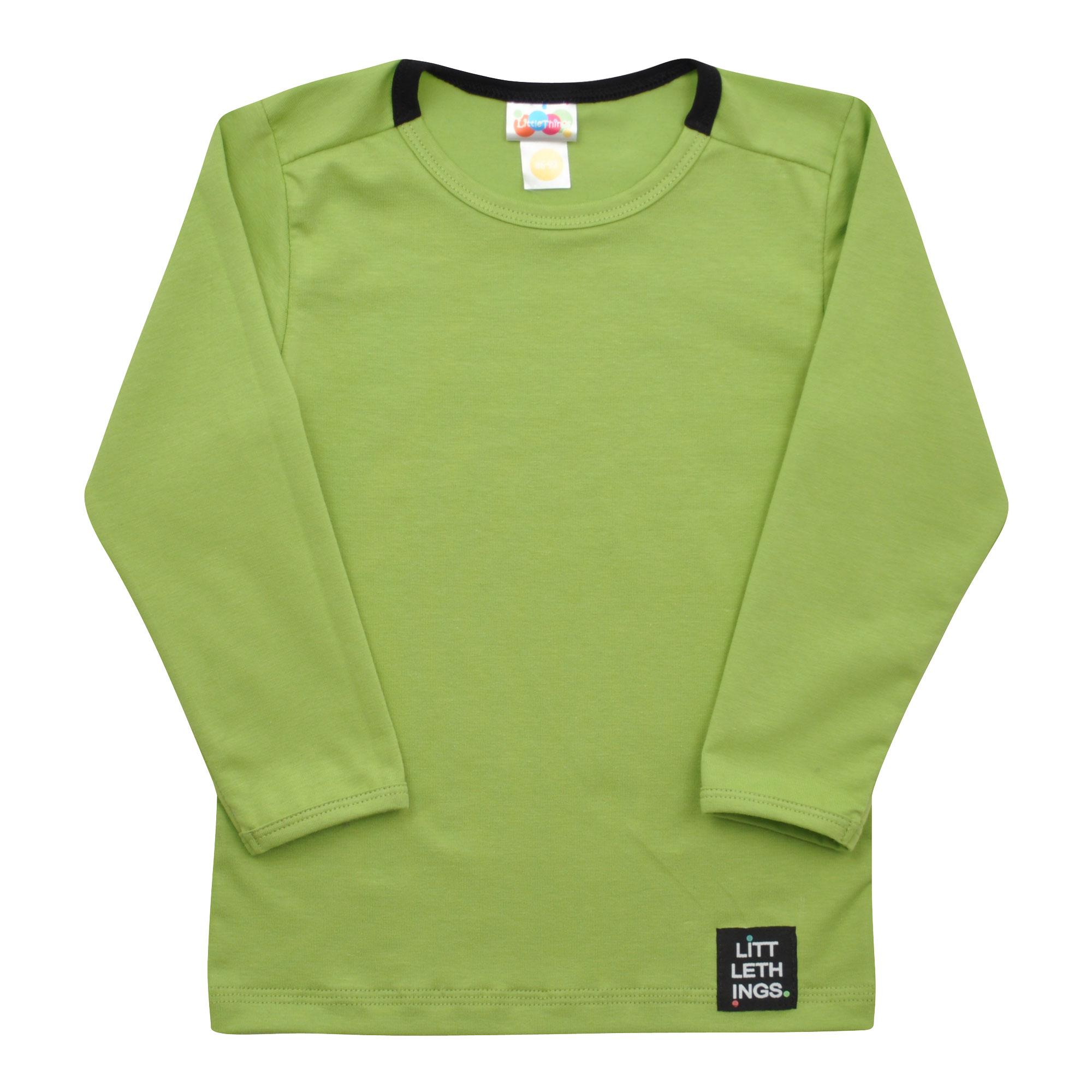 de87c58603e zelené tričko s dlouhým rukávem
