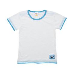 bílé bavlněné tričko s pirátským motivem 53e929a705