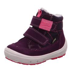 904ae6bb103 dívčí kotníčkové zimní boty Superfit s Gore-texem