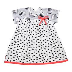 dívčí puntíkaté šaty s kočičkami 5a1800f243