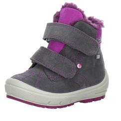 a40b198ff5a dívčí zimní kožené boty Superfit s membránou gore-tex