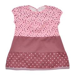 růžové bavlněné šaty 4fe47850ea