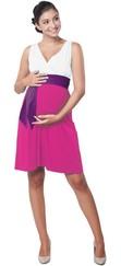 těhotenské šaty Madeline lilac b62a1ba3e5
