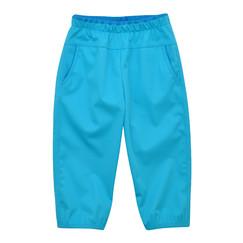 tyrkysové tenké softshellové kalhoty 37e4e7bcb1